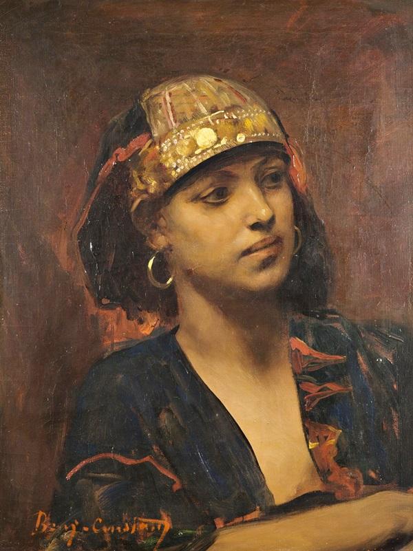 Портрет восточной женщины.