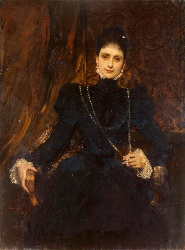 Портрет Марины Дервиз.