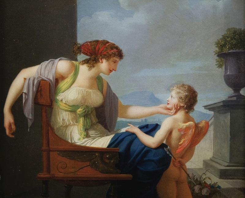 Венера и Купидон.