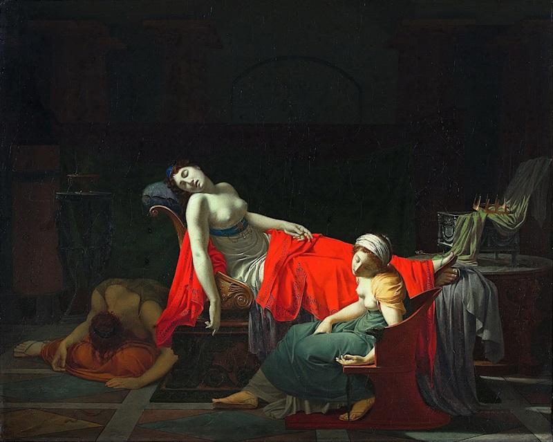 Смерть Клеопатры.