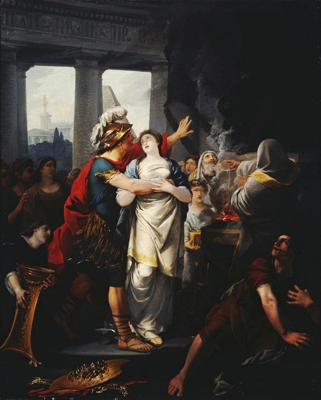 Брак Персея и Андромеды.