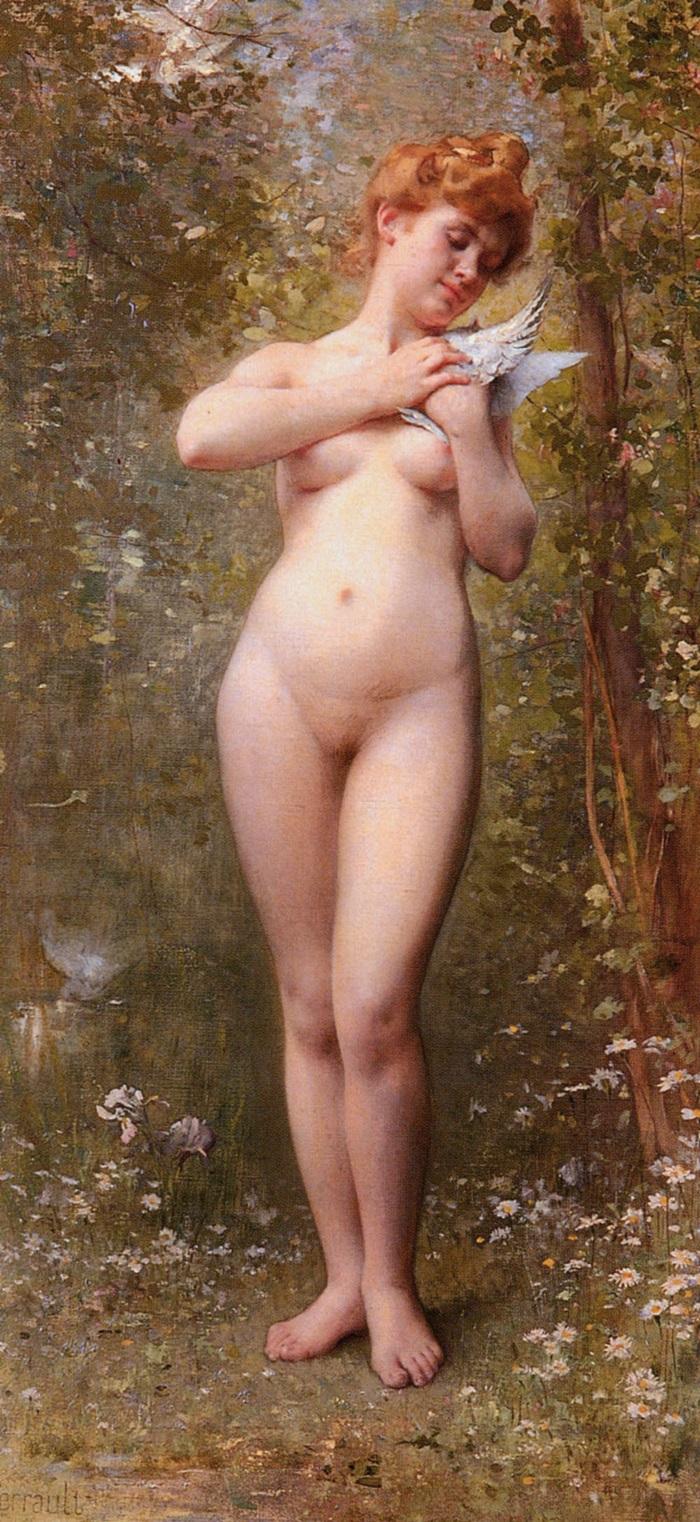 Венера с голубем.