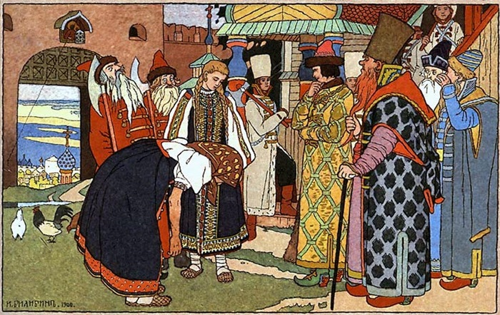 Иллюстрация к сказке Василиса Прекрасная,1900, Русский музей