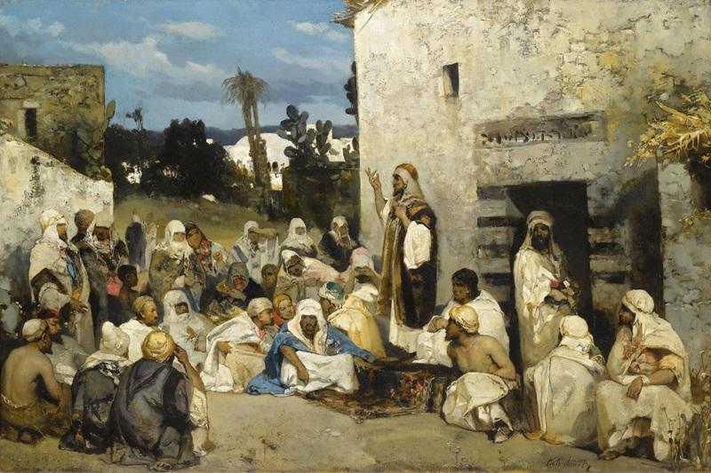 Проповедь в Капернауме.