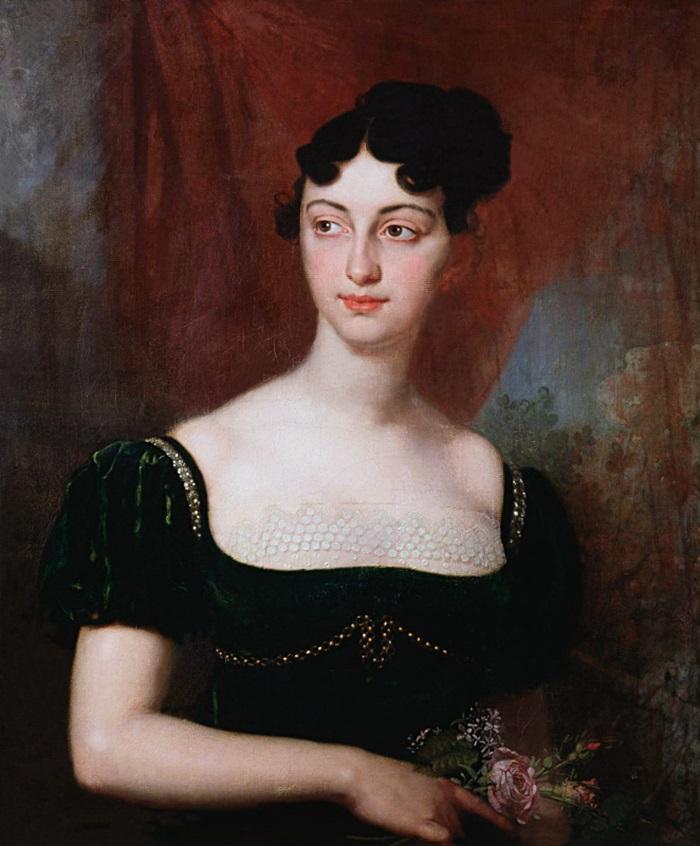 Портрет Марии Николаевны Яковлевой