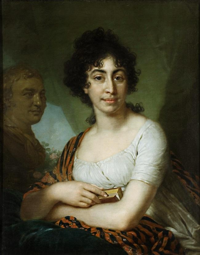Портрет В.Монычаровой.