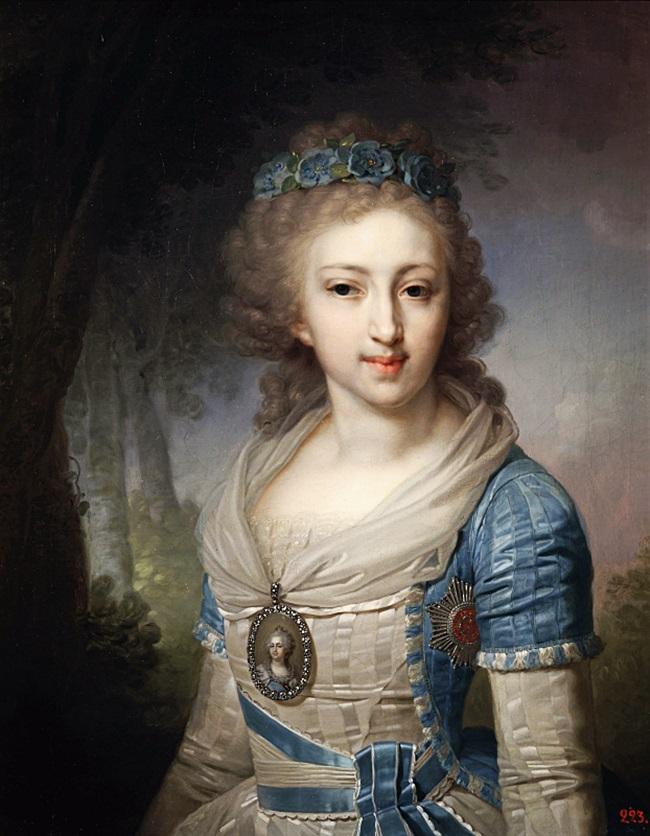 Портрет великой княжны Елены Павловны