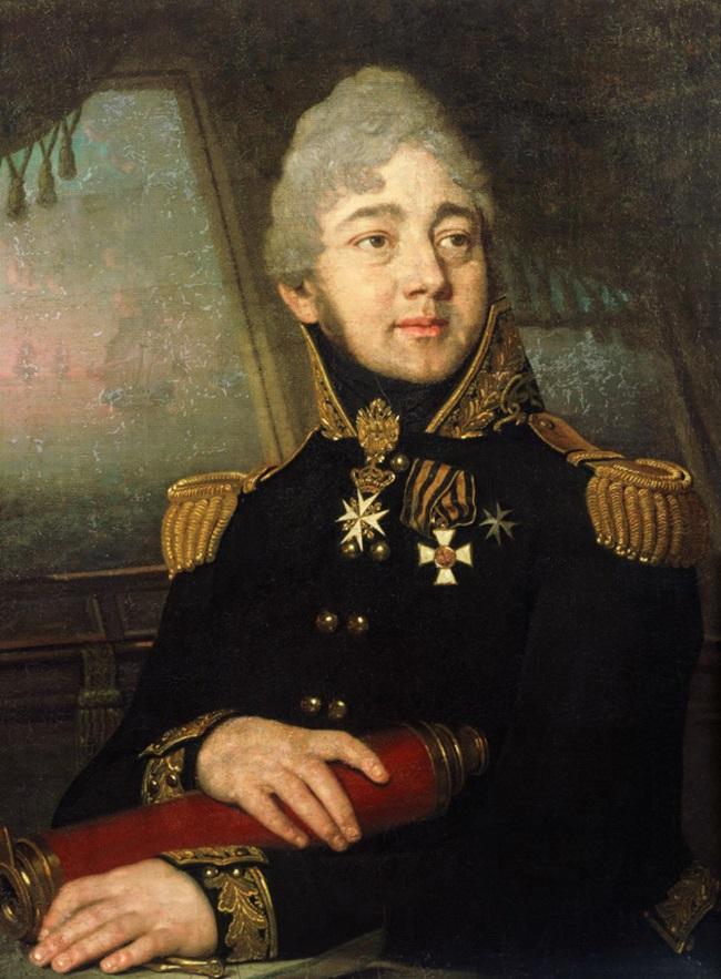 Портрет И.А. Баратынского, капитана-командора