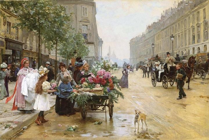 Рю-Рояль, Париж.