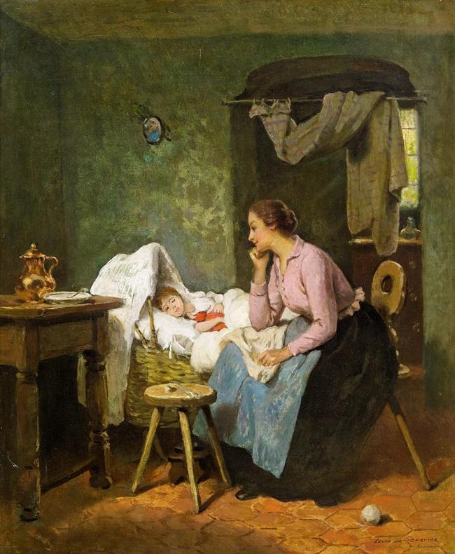 Мать и ребенок.