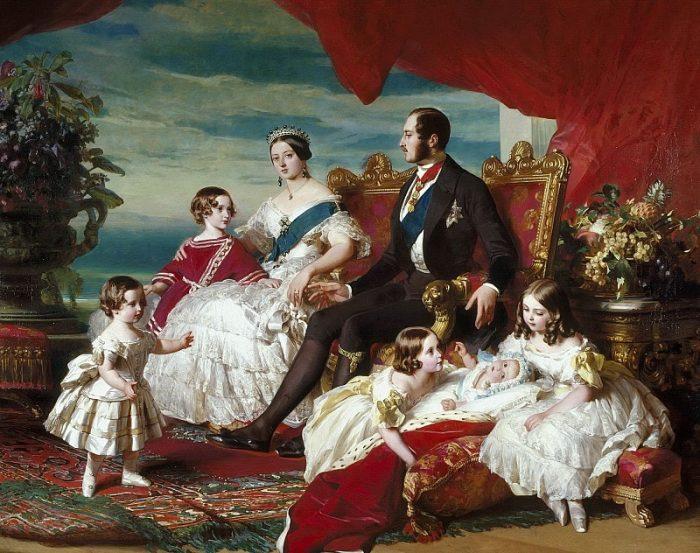Королевское семейство.