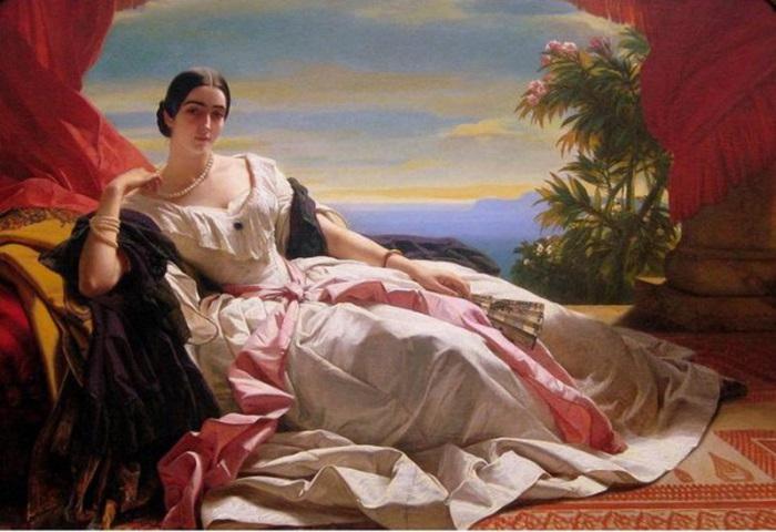 Леонила Барятинская княгиня Сайн-Витгенштейн-Сайн.