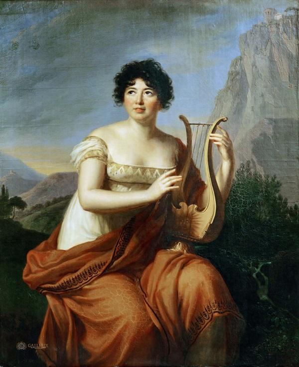 Мадам де Сталь в образе Коринны
