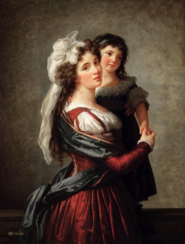 Мадам Руссо с дочерью