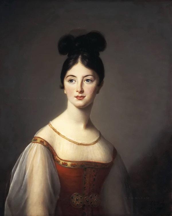 Портрет девушки в образе Аталанты (возможно дочери Жюли)