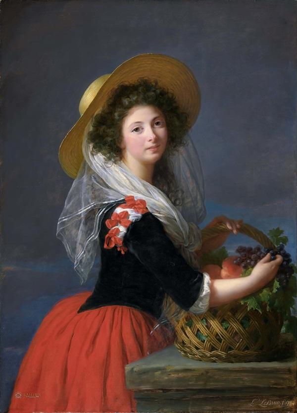 Портрет Мари Габриэль де Грамон, герцогини де Кадрус