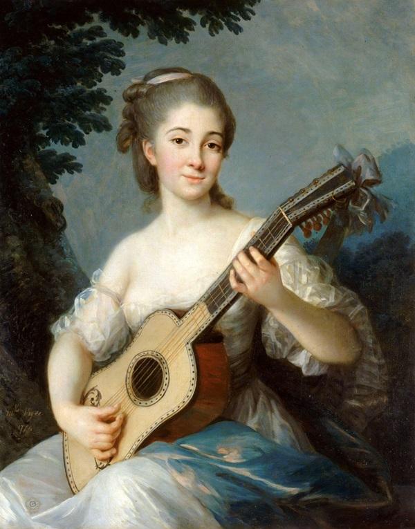 Портрет Марии де Робьен, виконтессы Мирабо