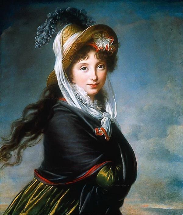 Портрет принцессы Каролины Лихтенштейн в образе Ириды