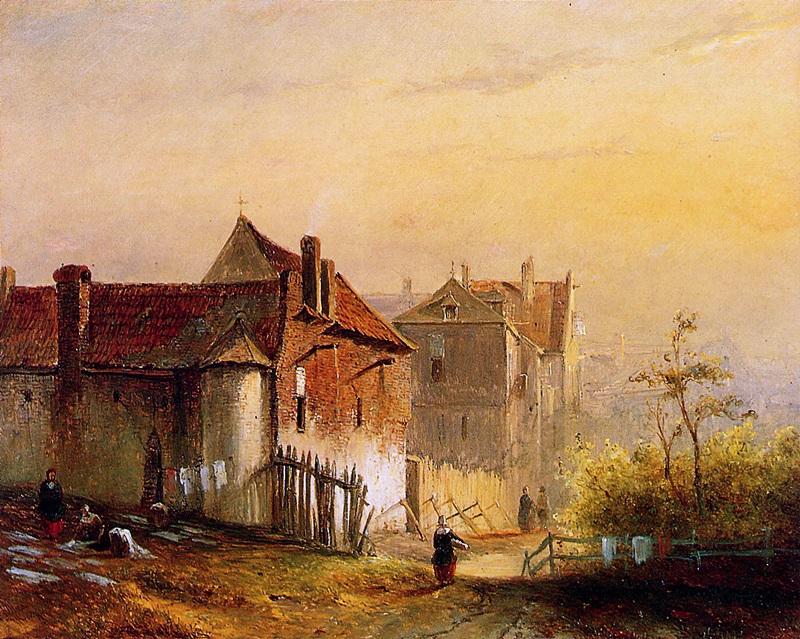 Вид деревни