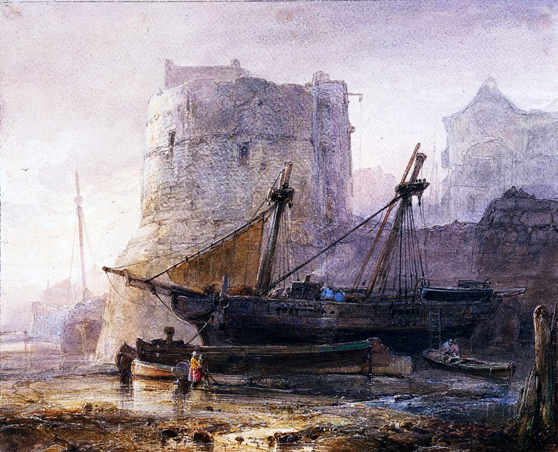 Суда во французской гавани