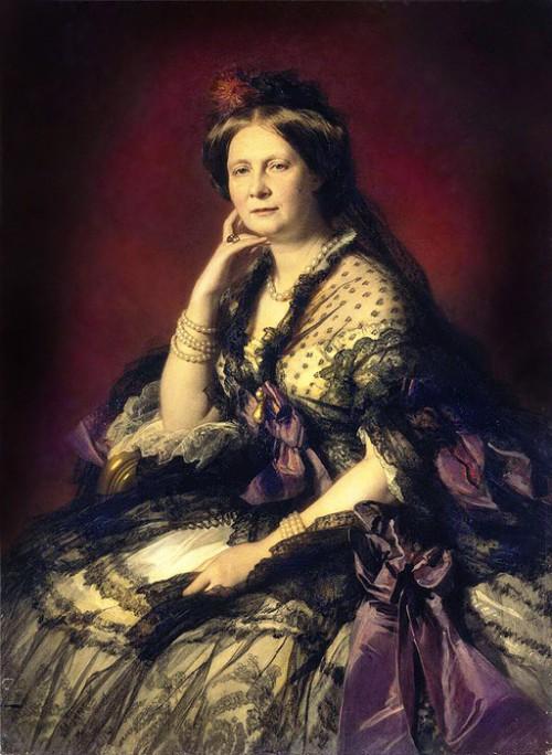 Великая княгиня Елена Павловна, супруга Михаила Павловича, младшего брата императора Николая I.