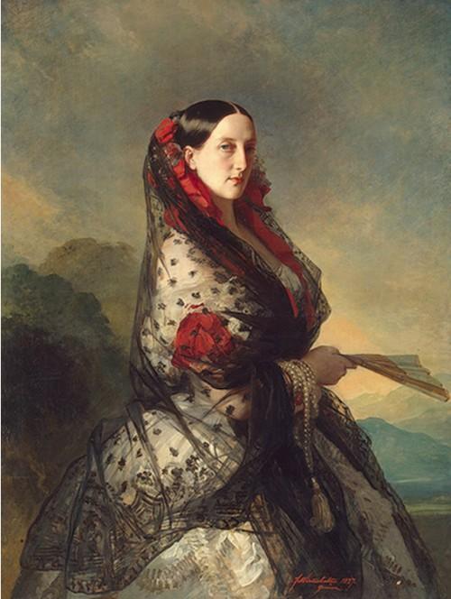 Великая княгиня Мария Николаевна герцогиня Лейхтенбергская, дочь императора Николая Первого.
