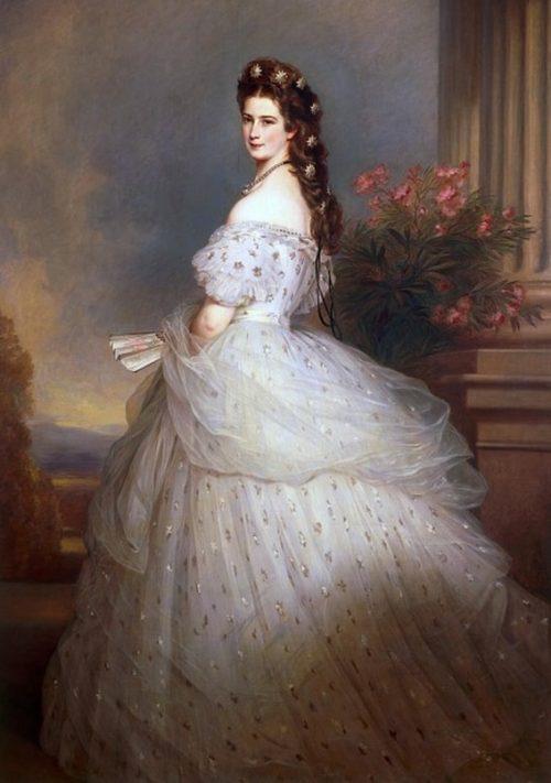 Елизавета, императрица Австрии и королева Венгрии.