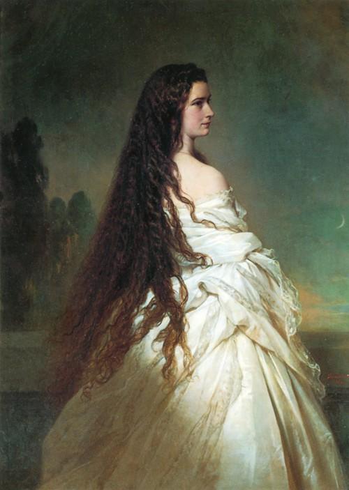 Императрица Австрии Элизабет.