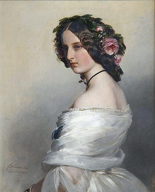 Леди Констанция Левесон-Гоуэр (1834-80), позднее герцогиня Вестминстер.