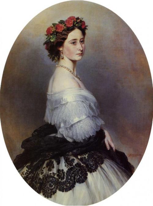 Принцесса Алиса, дочь английской королевы Виктории, мать русской императрицы Александры Фёдоровны.