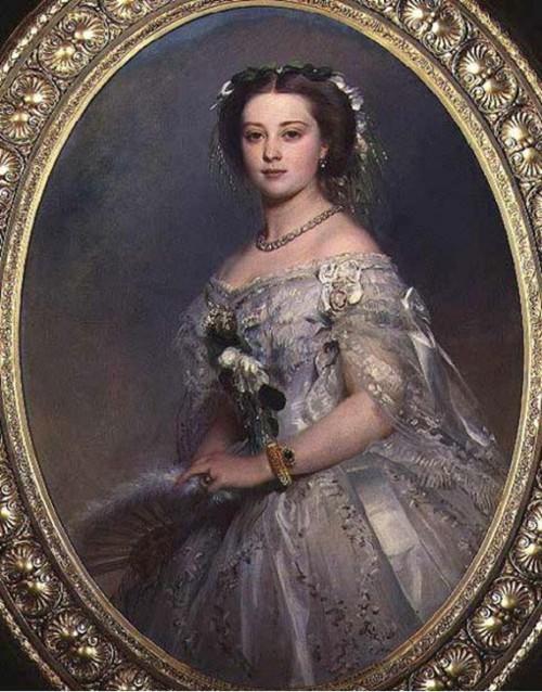 Принцесса Виктория, дочь английской королевы Виктории.
