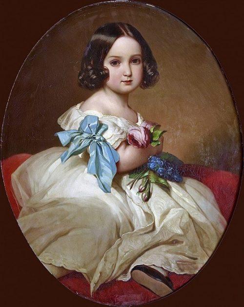Принцесса Шарлотта Бельгийская, позднее императрица Мексики.