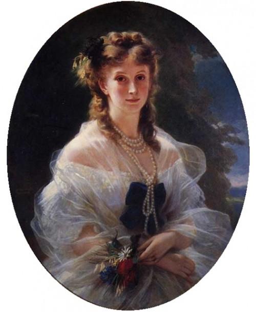 Софья Трубецкая, графиня де Морни.
