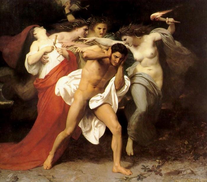 Раскаяние Ореста