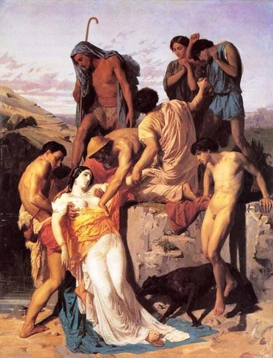 Зенобия, найденная пастухами на берегах Аракса
