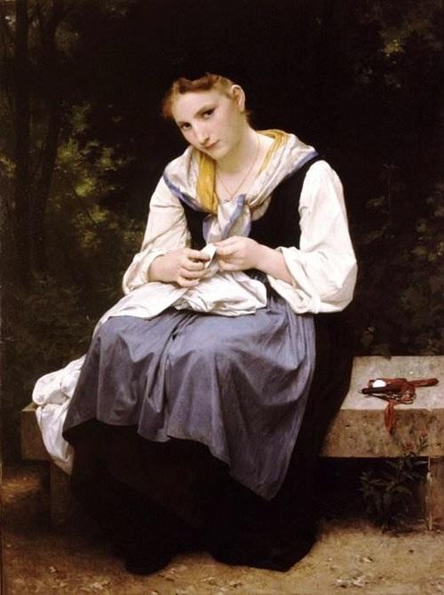 Молодая работница