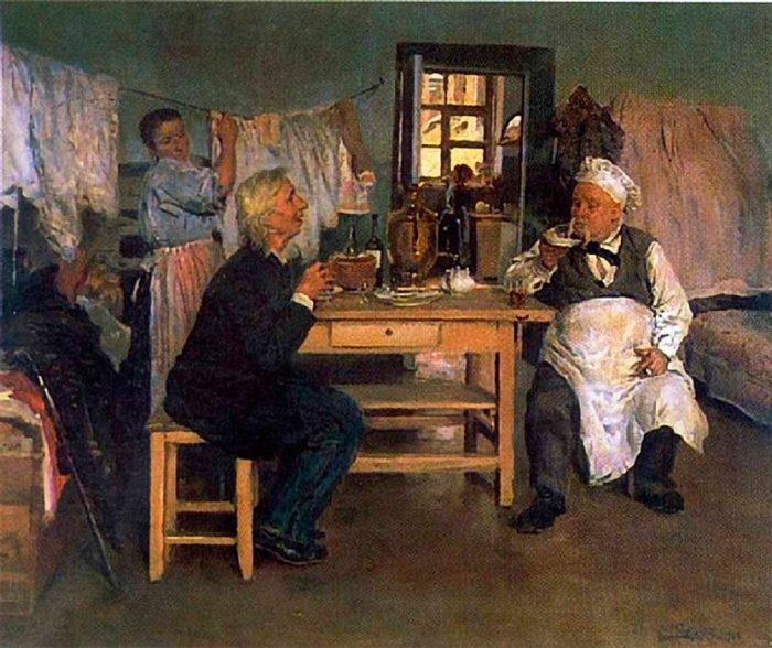 Беседа. Идеалист-практик и материалист-теоретик