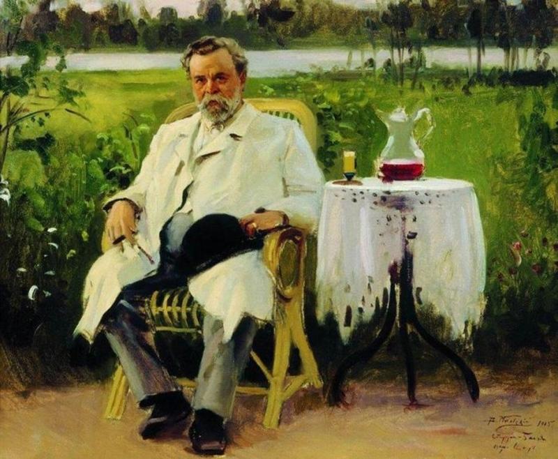 Портрет И.Е. Цветкова