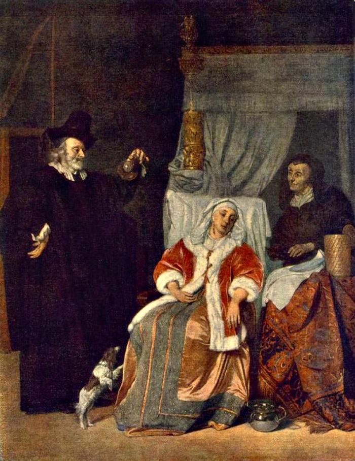 Визит эскулапа или Больная дама и ее лекарь