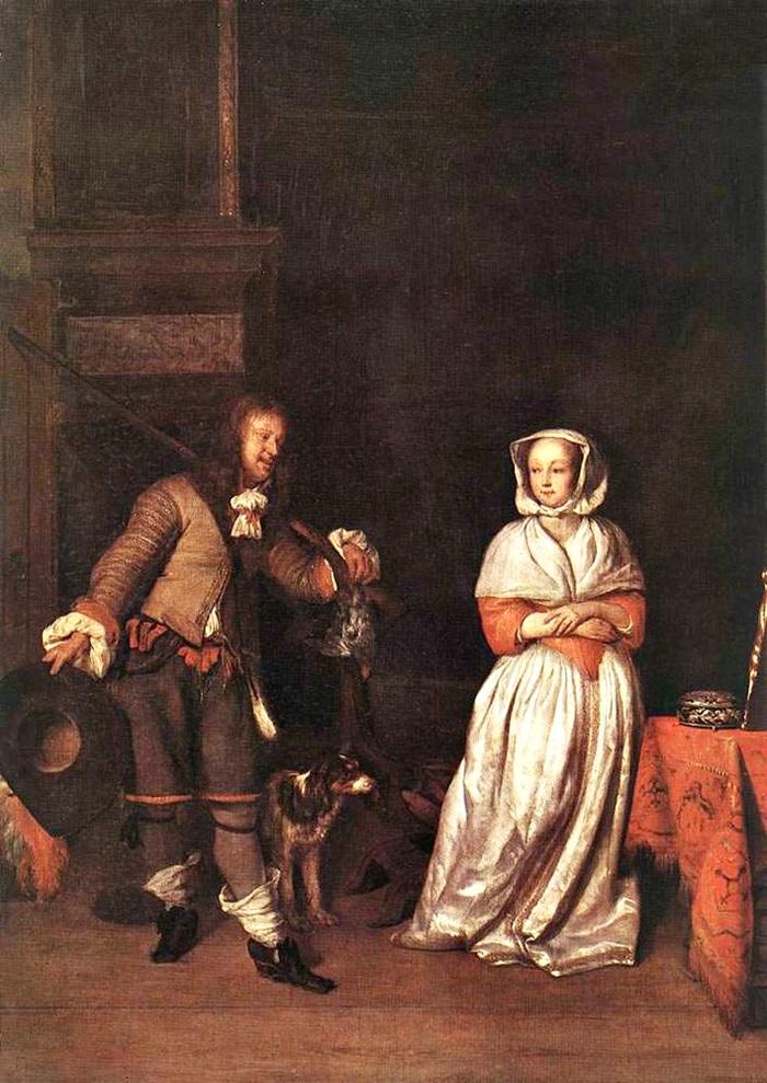 Охотник и женщина