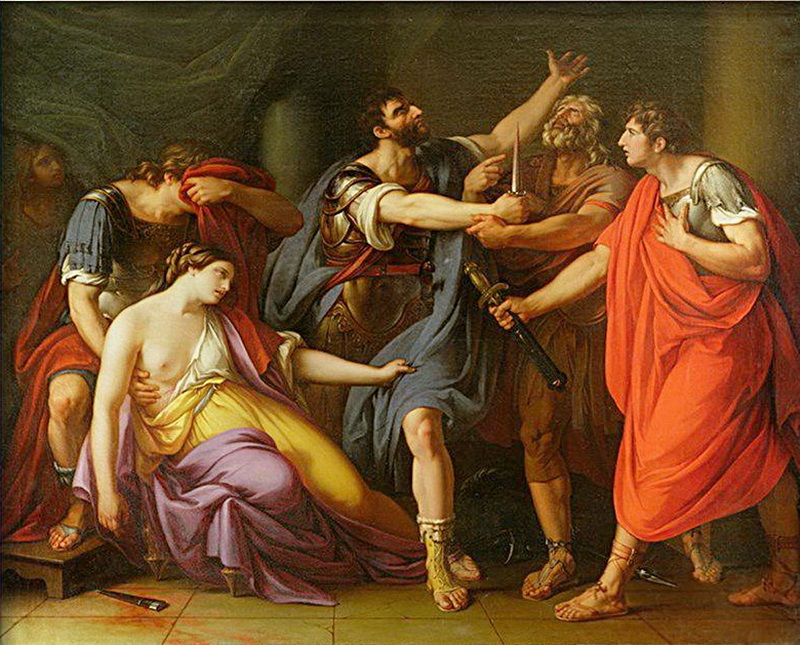 Клятва Брута (Смерть Лукреции)