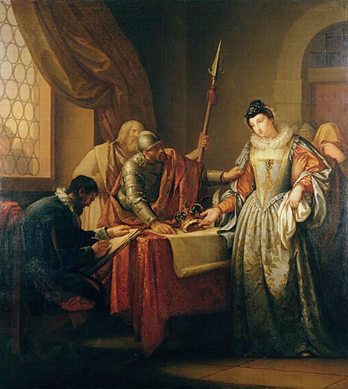 Отречение Марии Стюарт