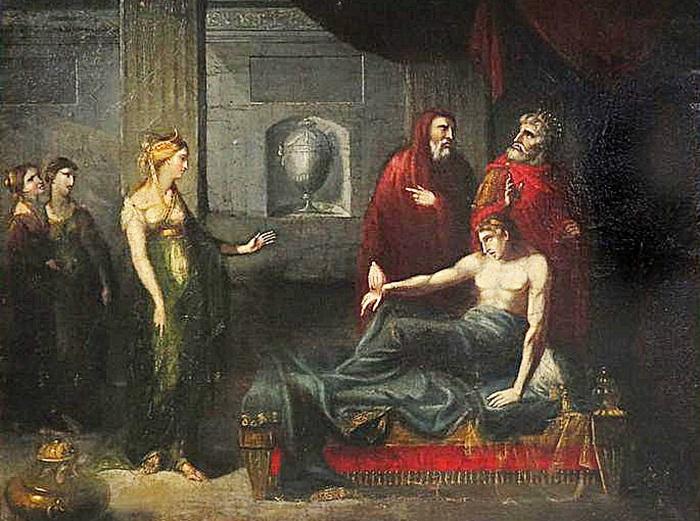 Смерть Антиоха