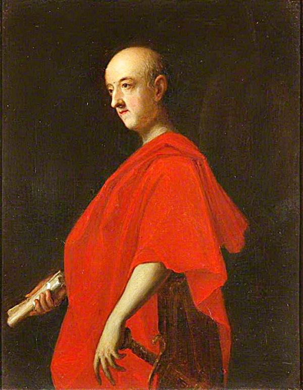 Джон Гиз, как римский сенатор