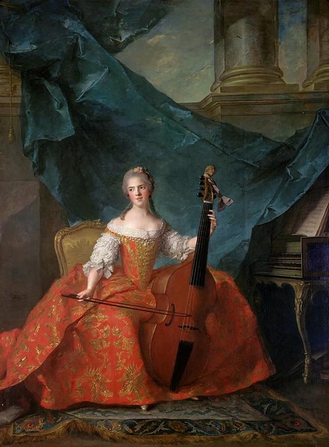 Анриетта Французская (1727-1752), известная как Мадам Анриетта.