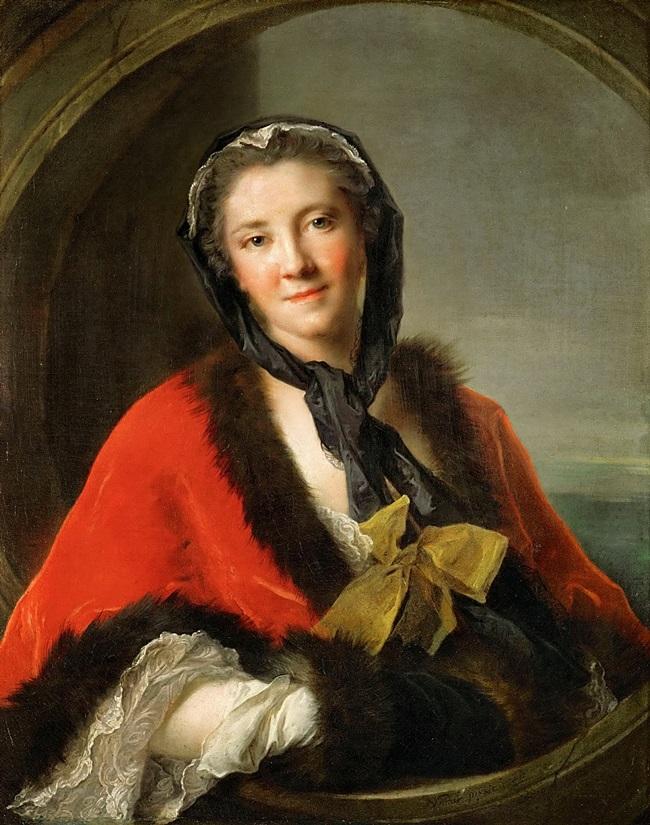 Графиня Тессэн, жена шведского посланника в Париже.