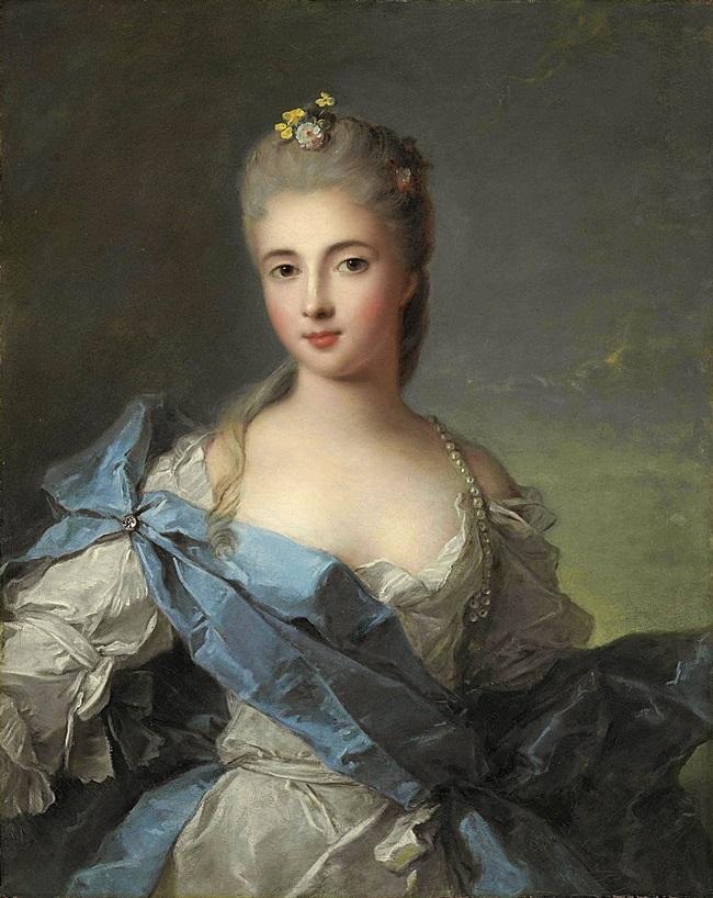 Женский портрет, , ранее идентифицирован как Дюшес де Ларошфуко.