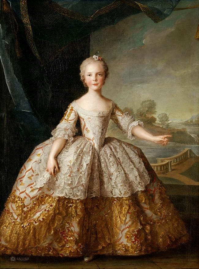 Изабелла Пармская (1741-1763) в детстве.