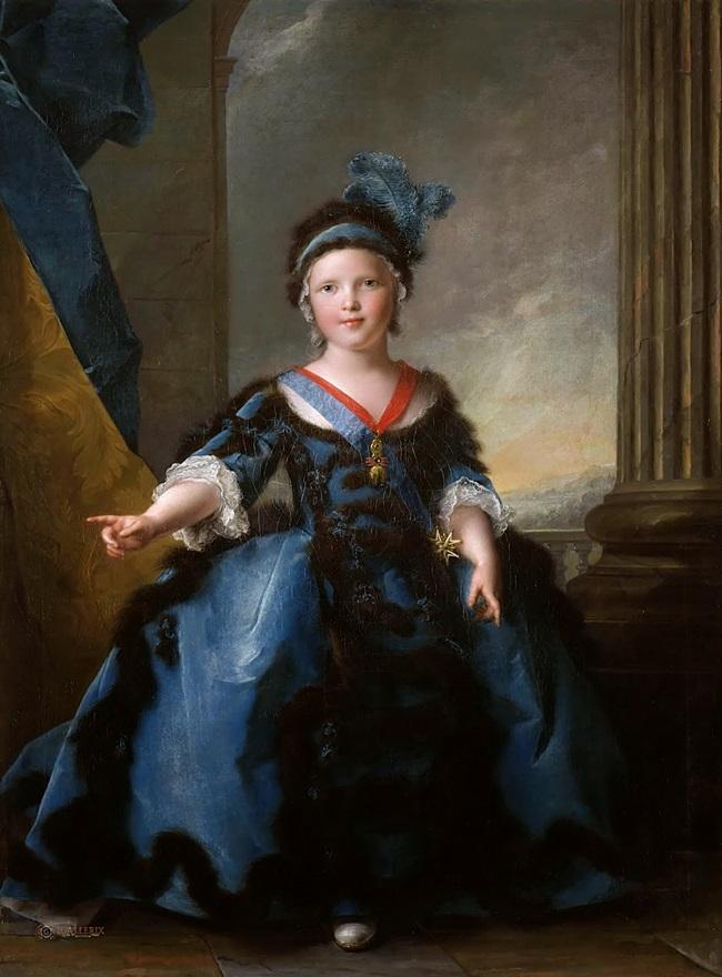 Луи-Жозеф-Ксавье Французский, герцог Бургундский (1751-1761).