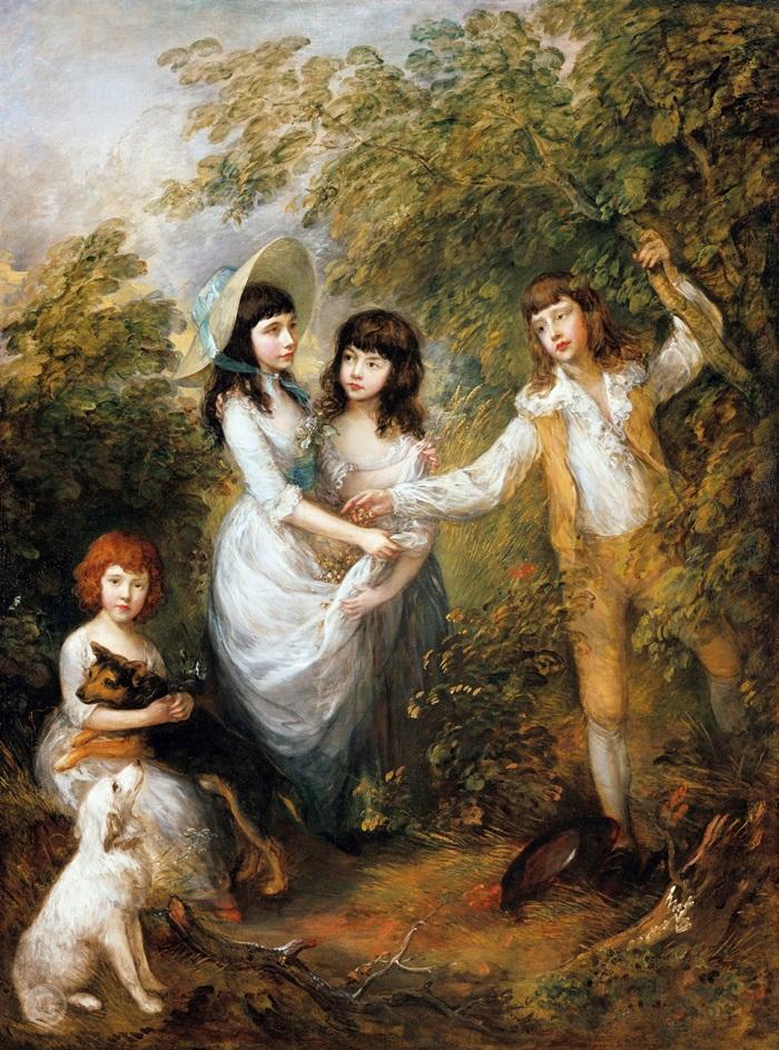 Дети семьи Маршем